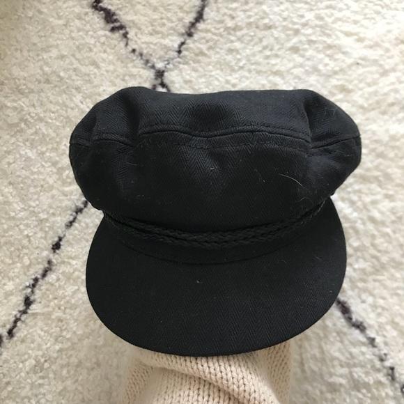 a9b3395b476 Brixton Accessories - Brixton Fiddler Fisherman Cap   Black   Small